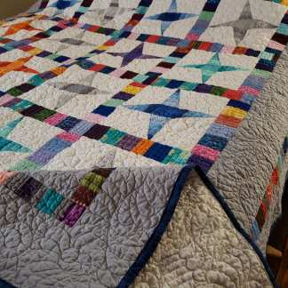quilt for sale, ready to ship
