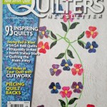 Cutwork Article in Quilter's Newsletter Monthly!