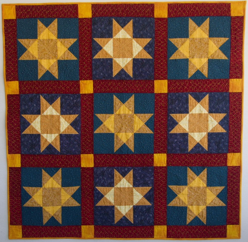 Small Ohio Star quilt
