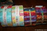 Jellyroll Fabric Stash
