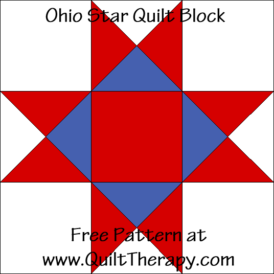 Star Power Ohio Star And Ohio Star Variation Quilt Blocks Quilt