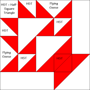 Fruit Basket Quilt Block Diagram Free Pattern at QuiltTherapy.com!
