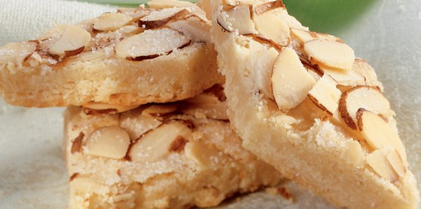 Almond Diamond Cookies