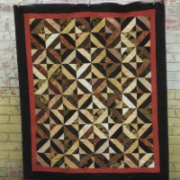 Garden Trellis Quilt Finished