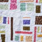 Mod-Mosaic Baby Girl Quilt