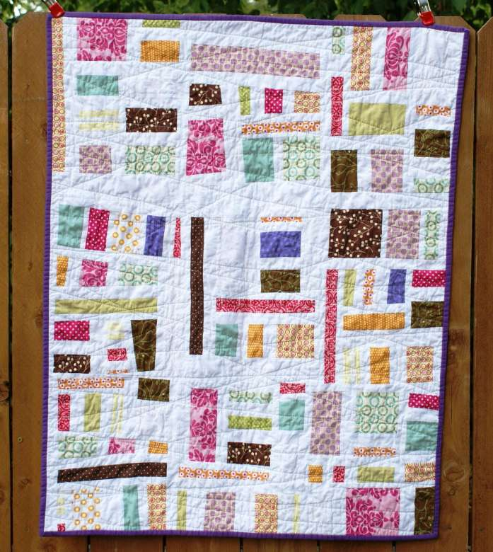 Baby Girl Mod Mosaic Quilt