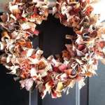 Fabric Fall Wreath Tutorial