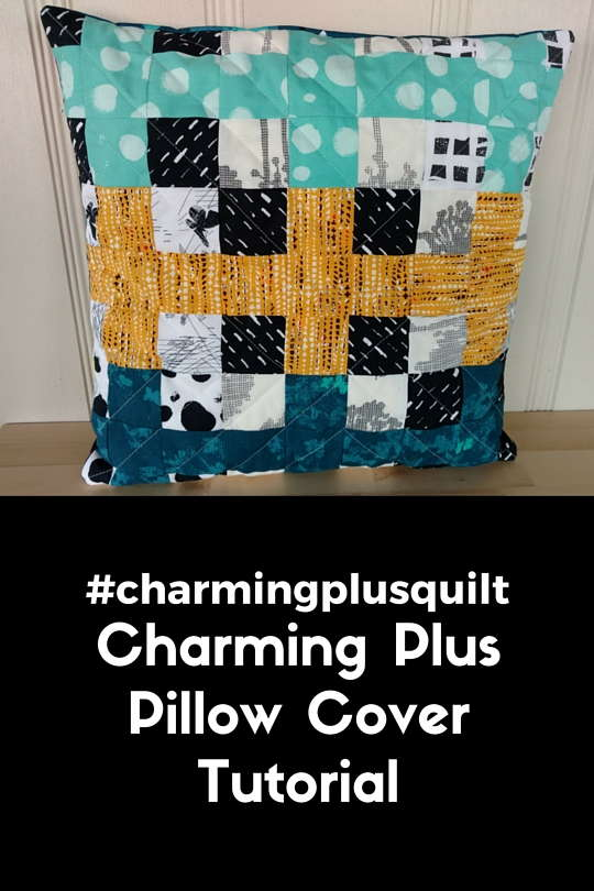 Charming PlusPillow Cover Tutorial
