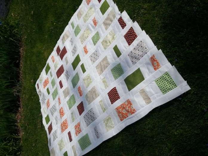 fat quarter throw quilt