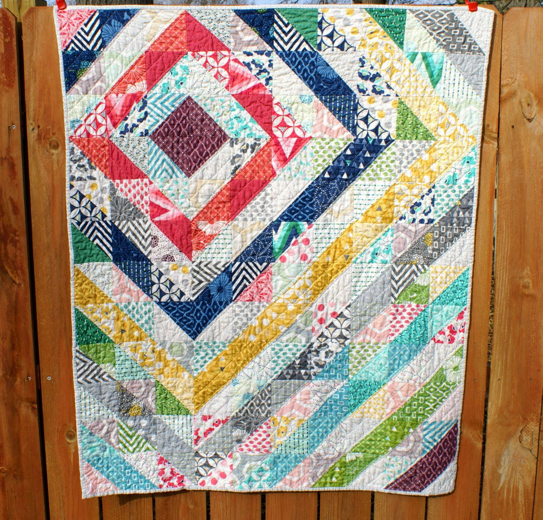 Quilt by Committee - V&Co HST Quilt - Quiltytherapy | Quiltytherapy : hst quilt - Adamdwight.com