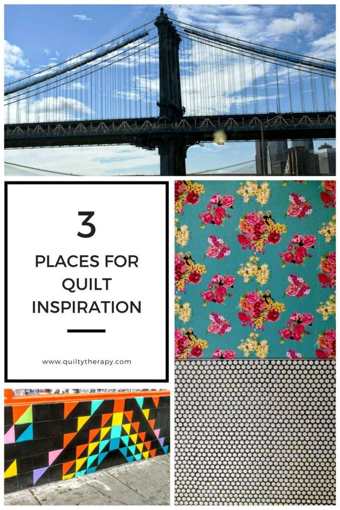 3 Places for Quilt Inspiration by quiltytherapy