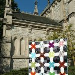 Halloween:  Spooky Ghost Pumpkin Quilt is Finished
