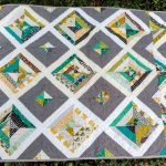 Woodland Strings Baby Boy Quilt