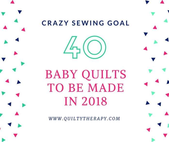 2018 sewing goal, 2018 goal, sewing goal