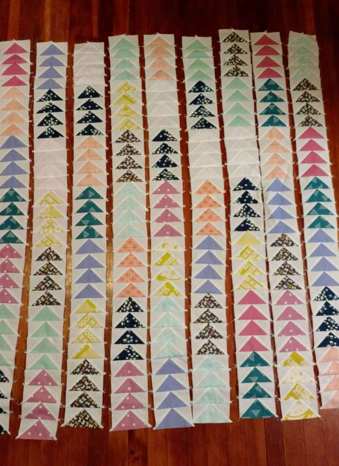 flying geese blocks, quiltytherapy