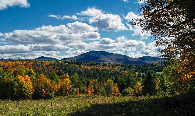 Fall Foliage in the Northeast Kingdom of Vermont