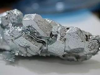 Cristales de galio