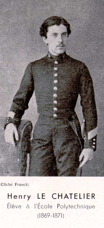 Henry Le Chatelier en la École Polytechnique