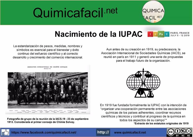 Nacimiento IUPAC