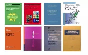 Algunas de las publicaciones de la IUPAC