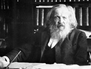 Dmitri Mendeleev, considerado el padre de la tabla periódica