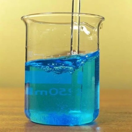 Solución de sulfato de cobre