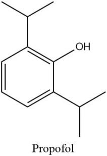 Estructura del propofol