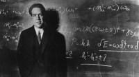 Niels Bohr en clase