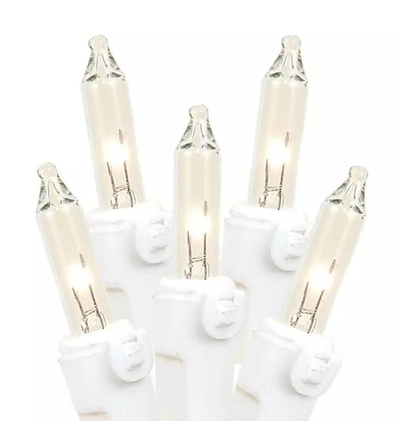 Miniluces de navidad, fueron dominantes en el mercado de luces de navidad por varias décadas