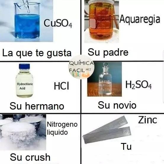 El amor es más que química. Para más humor químico y científico visítanos