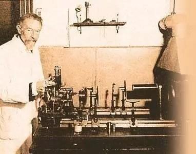 Richard Adolf Zsigmondy y su ultramicroscopio