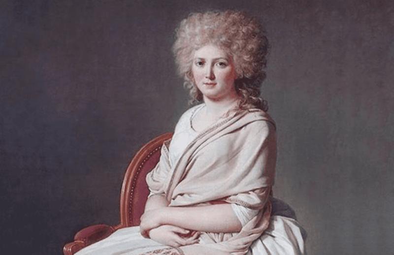 Retrato de Marie-Anne Pierrette Paulze, Madame Lavoisier