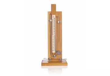 Modelo de Manómetro de Anschütz con escala variable