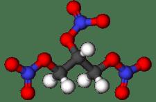 Estructura de la nitroglicerina