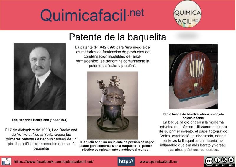 Infografía baquelita