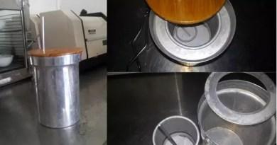 Calorímetro adiabático de laboratorio