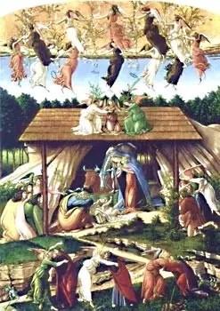 Sandro Botticelli, Natividad mística, circa 1500