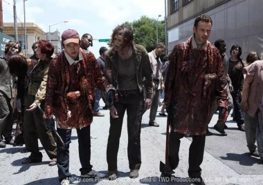 "Fotograma del episodio ""Guts"" de The walking Dead ©TWD"
