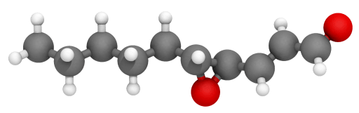 Estructura 3D del trans-4,5-epoxi-(E)-2-decenal