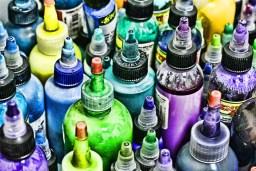 En el mercado hay una gran variedad de pigmentos para tatuajes