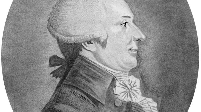 Louis-Bernard Guyton, Barón de Morveau (4 de enero de 1737 - 2 de enero de 1816)