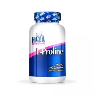 Presentación comercial de L-prolina como complemento