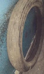 Neumáticos no garaxe