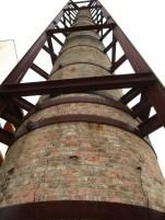 Chimenea antigua conservera Massó Bueu