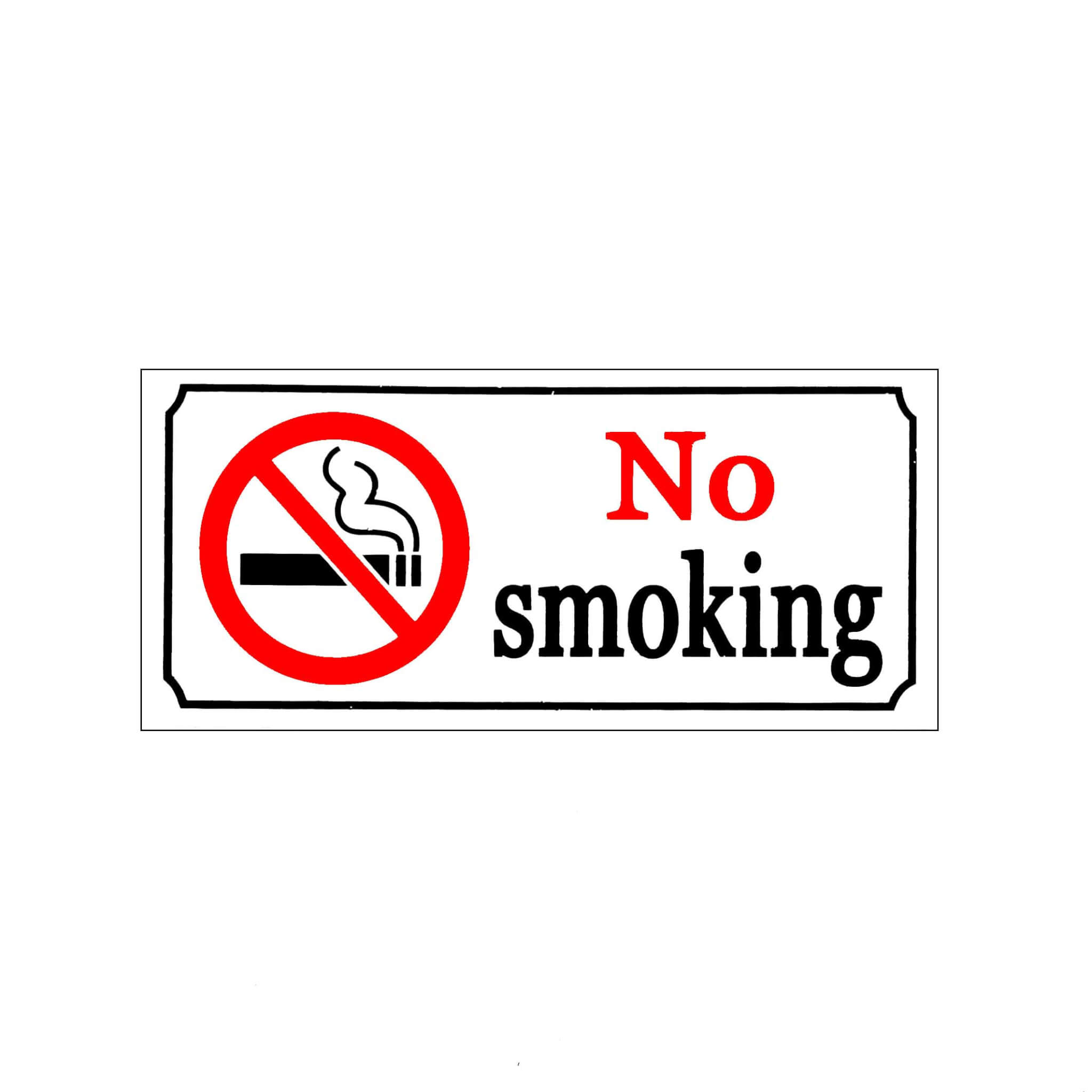 Ae Sticker No Smoking