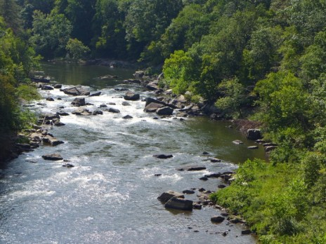 Youghiogheny river near Ohiopyle
