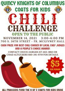 K of C Chili Challenge (JPG Flyer)