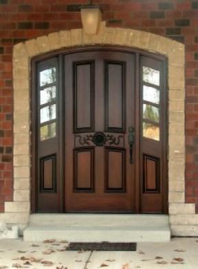Front door - Arched Door - quinju.com