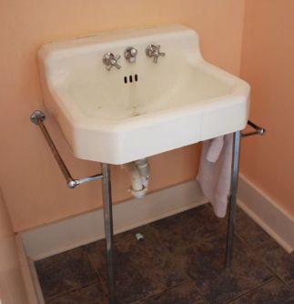 Old Style Pedestal Sink - Bathroom Vanity - quinju.com