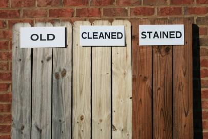 Comparing Looks - Deck Staining - quinju.com